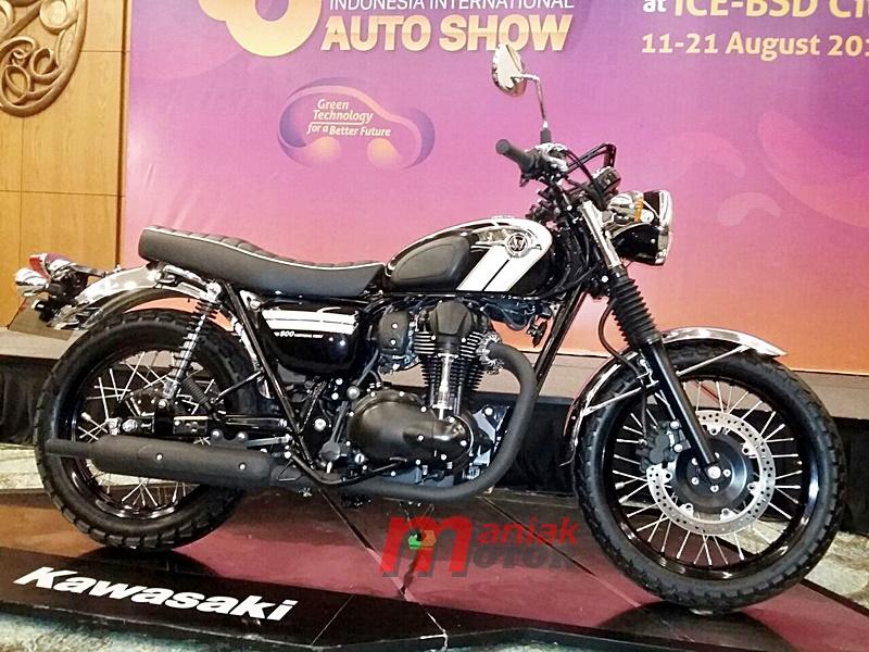 Kawasaki Bawa Model Klasik W800 Di Giias Harga Bikin Garuk Kepala