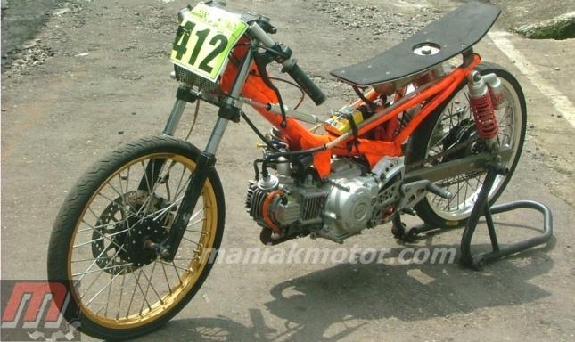 Modifikasi Jupiter Z Pele Drag Bike Mesin Cetak Ulang Penantang Dohc Fu Portal Sepeda Motor Dan Seluruh Aspeknya