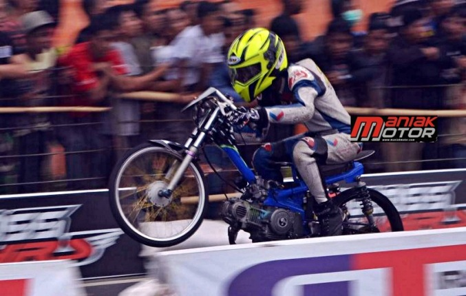 Drag Bike 2015: AHRS Stop Road Race, Pindah Trek Lurus..!