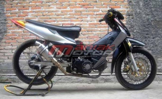 Modifikasi Honda Supra X125 Tampang Dan Parts Standar 16 Dk