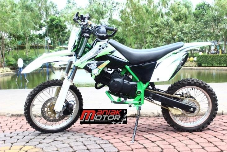 Modifikasi Honda Karisma Jadi Kawasaki Klx150 Bebek Jadi Trail