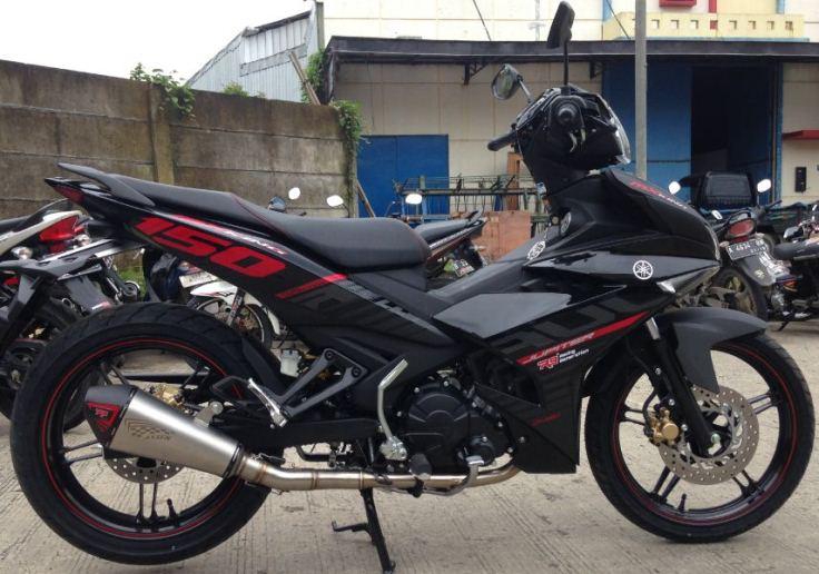 Knalpot R9 Assen Series Untuk Yamaha Mx King 150 Tenaga Naik 2 Hp