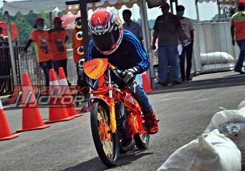 Drag Bike 2015: Setting 125Z Jocell Tembus 7,3 Detik