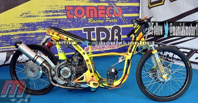 MODIFIKASI HONDA BEAT DRAG BIKE; MATIK-MATIC 155 CC JAWARA