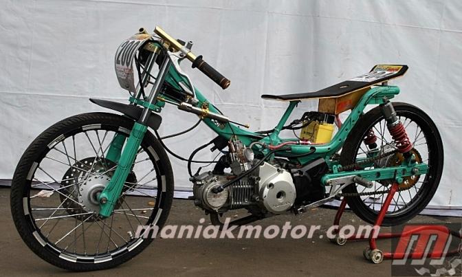 Modifikasi Motor Supra X Lama Gambar Modifikasi Motor