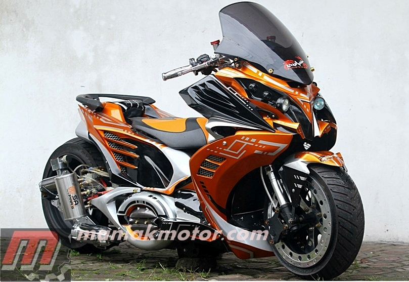 Modifikasi Motor Honda Vario Techno 125 Bandung Robot Loh Portal Sepeda Motor Dan Seluruh Aspeknya