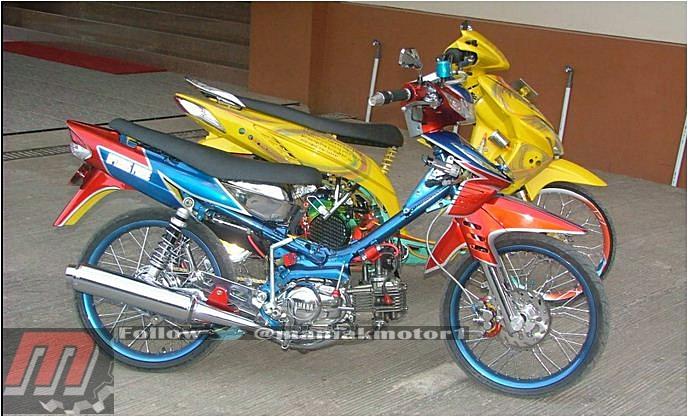 Modifikasi Yamaha Vega Dan Honda Vario Jurusnya Sama Street Racing Portal Sepeda Motor Dan Seluruh Aspeknya