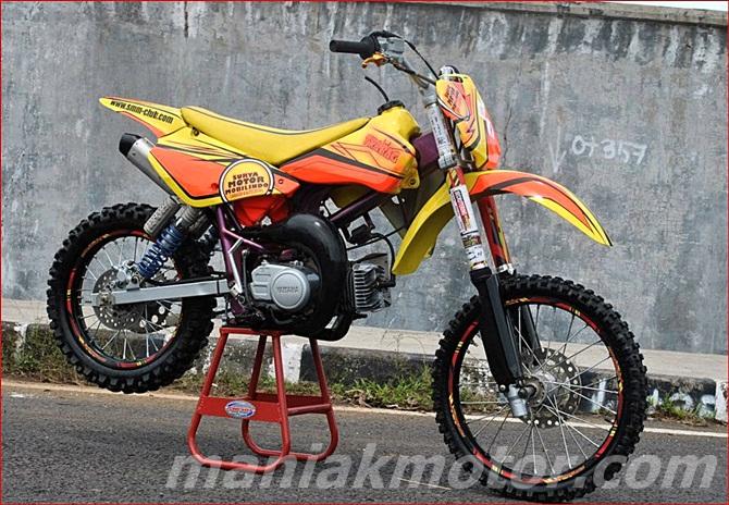 Modifikasi Yamaha F1zr 2000 Tasikmalaya Spek Grasstrack Takut