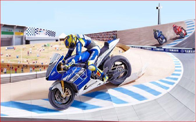 Motogp Diorama Rossi Vs Stoner Di Corkscrew 2008 48 Lembar