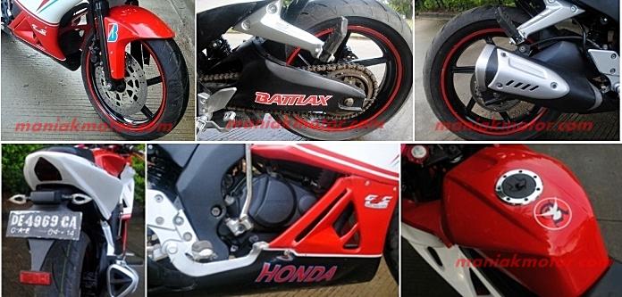 Modifikasi Honda Gl Max 2014 Jakarta Full Fairing Ala G2c