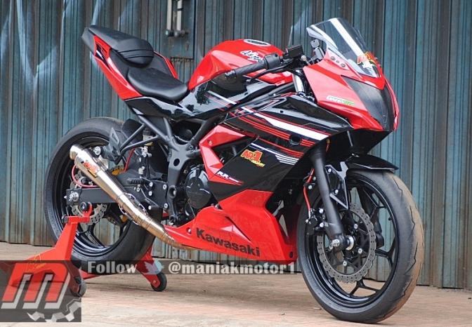 Modifikasi Kawasaki Ninja 250RR Mono
