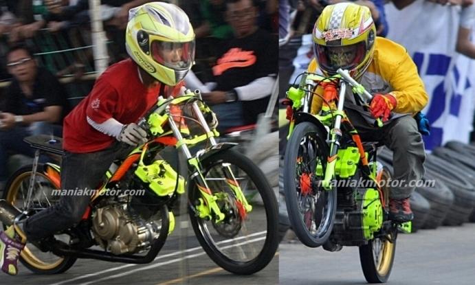 Drag Bike 2013 5 Bebek 200 Cc Tercepat Batank Dan Chodox Pernah