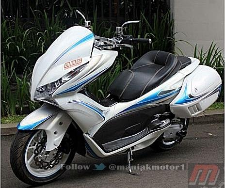 Modifikasi Honda Pcx 2014 Woow Serba Besar Cooyy Portal Sepeda