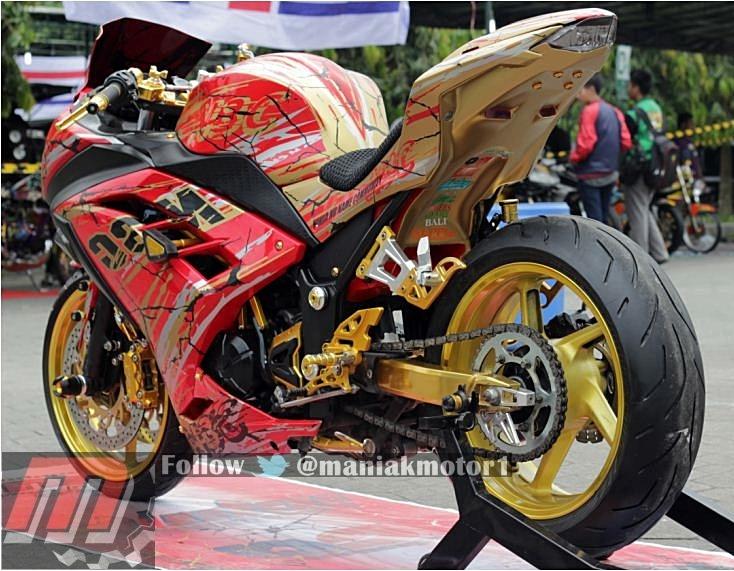 Modifikasi Motor Kawasaki Ninja 250 Fi 2012 Jogja Asli Pesolek Simbol Eksistensi Portal Sepeda Motor Dan Seluruh Aspeknya