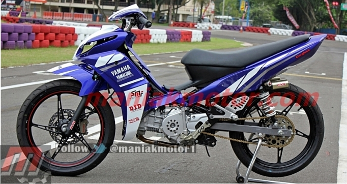 Modifikasi Jupiter Z1 Racing Indoprix 2013 Buka Bukaan