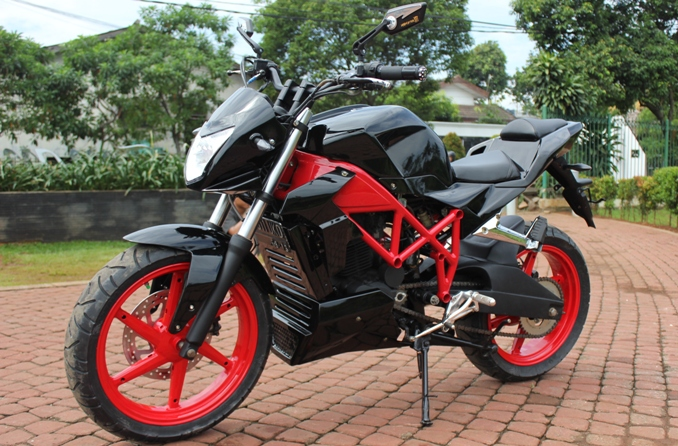 Modifikasi Honda Tiger Revo 2012 Jakarta Street Fighter Portal Sepeda Motor Dan Seluruh Aspeknya