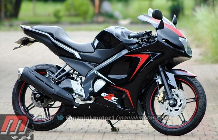 contoh Variasi Motor Yamaha Vixion 2013
