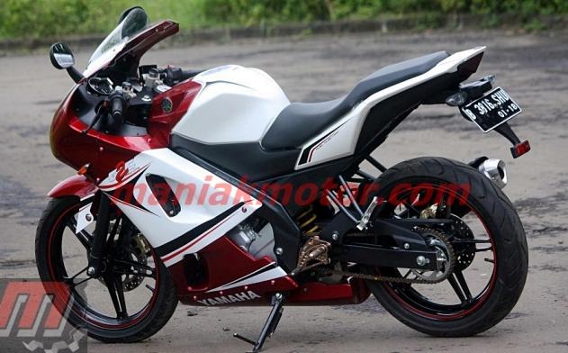 Modifikasi Yamaha New Vixion 2013 Jakarta Bukan Naked Bike Tetap