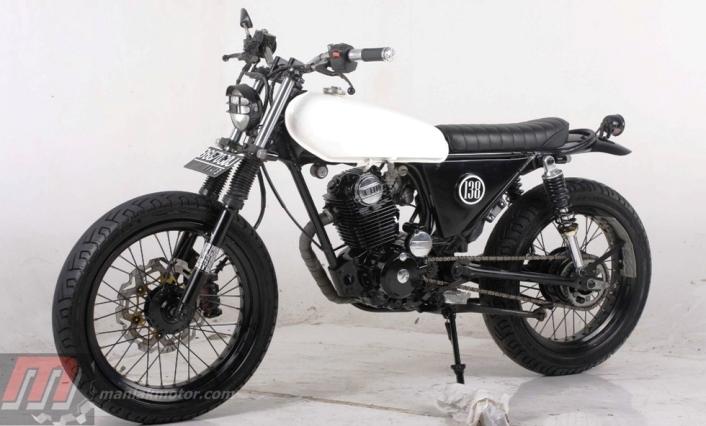 Modifikasi Honda Cb100 Gabungan Cb Dan Ls Portal Sepeda Motor Dan
