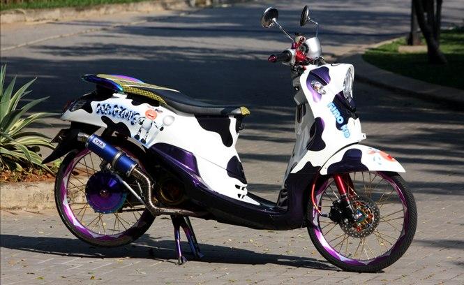 Modifikasi Yamaha Fino Pilih Bolt On Yang Benar Portal Sepeda