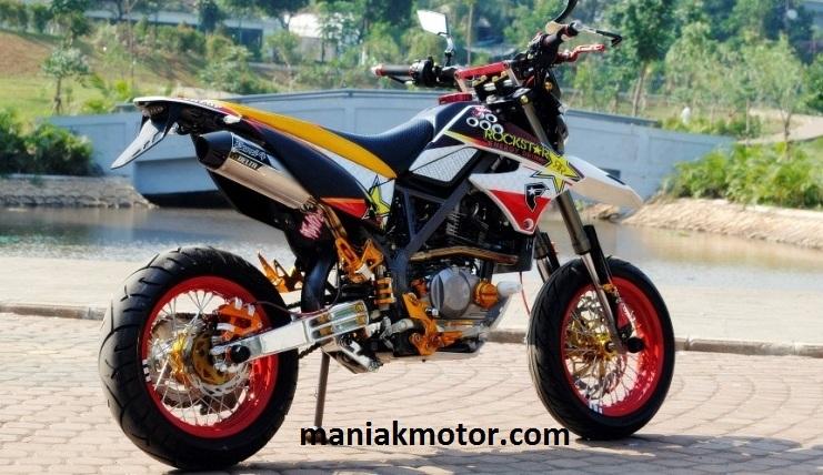 Modifikasi Kawasaki Klx 150 Model D Tracker Cuma Variasi Portal