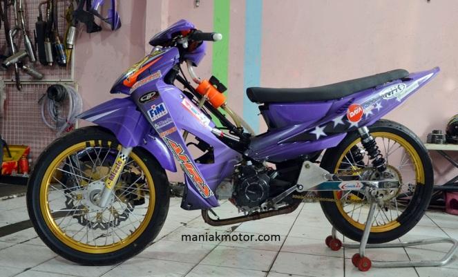Modifikasi Honda Blade Disegani Di Indo Prix Portal Sepeda Motor Dan Seluruh Aspeknya