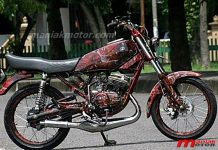 Modifikasi Bodi Yamaha RX-King
