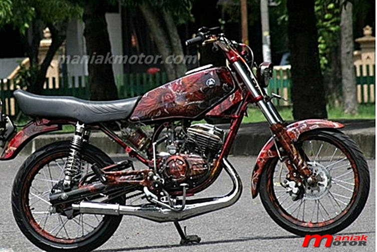 kumpulan modifikasi motor king jogja