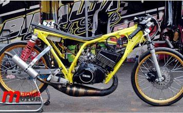 Modifikasi RX-Z Drag Bike