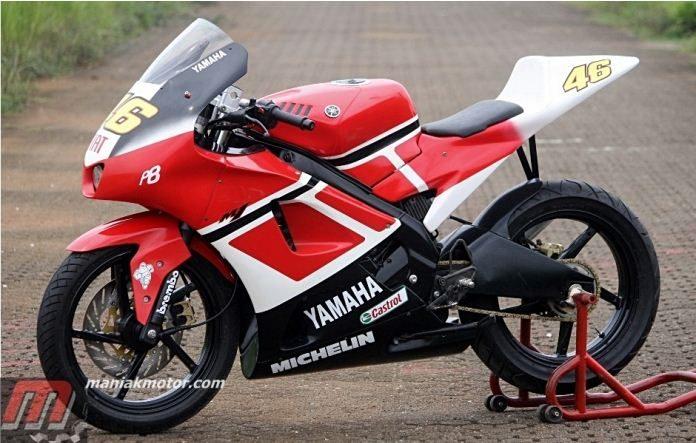 Modifikasi Yamaha Vixion jadi M1