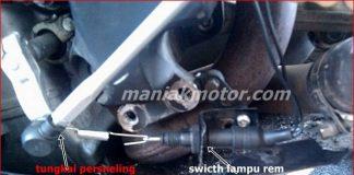 Bikin quic shifter di motor