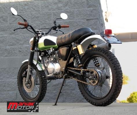 Modifikasi Honda Win Dibikin Triumph Mini Portal Sepeda Motor Dan