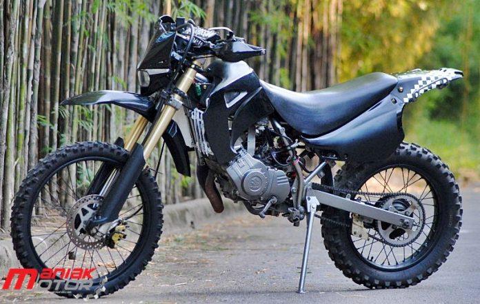 Modifikasi Suzuki Satria 120r Rangka Hyosung Tampang Grasstrack Buat Harian Portal Sepeda Motor Dan Seluruh Aspeknya
