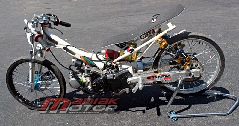 Modifikasi Honda Supra X 125 Dragbike Kencang Di Bebek 4t Tu 130 Cc Portal Sepeda Motor Dan Seluruh Aspeknya