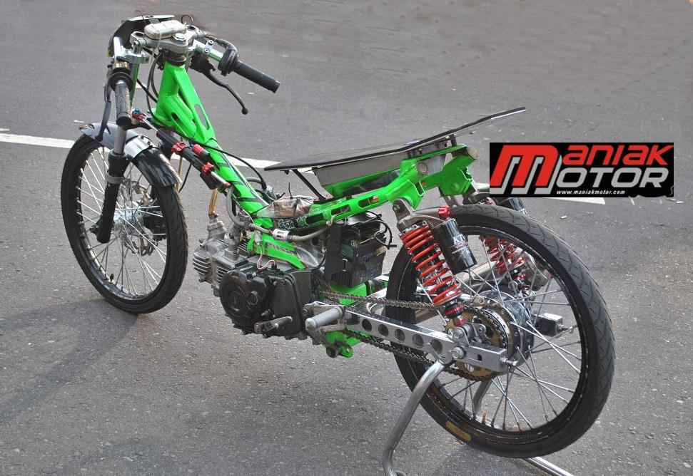 Modifikasi Jupiter Z Drag Bike Kruk As Vega 8 1 Detik Di Bebek 130 Cc 4t Tu Portal Sepeda Motor Dan Seluruh Aspeknya