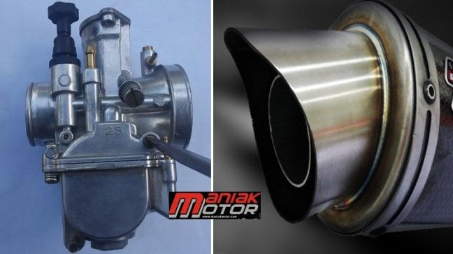 Tips Motor Setting Udara Dan Bahan Bakar Pasca Ganti Knalpot Racing