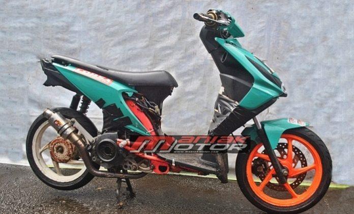 Modifikasi Honda Beat 130 Cc Matik Matic Race Mirip Korek Harian