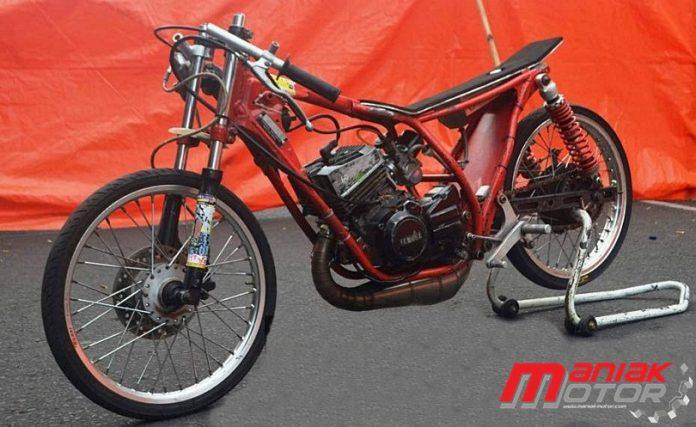 Modifikasi Yamaha Rx Z Drag Bike Justru Diameter Piston Dibikin Kecil Sport Tu 140 Cc Portal Sepeda Motor Dan Seluruh Aspeknya