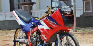 Modifikasi Drag Bike Thailook