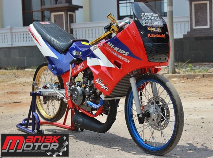 Modifikasi Drag Bike Thailook