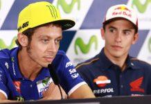 Va;entino Rossi jumpa pers Aragon 2016