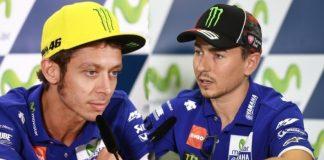 Valentino Rossi Dan Jorge Lorenzo, perang mulut di Aragon 2016