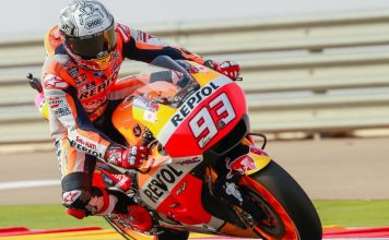 Marc Marquez race Aragon 2016