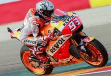 Marc Marquez pole MotoGP Aragon 2016