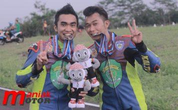 Pembalap Kaltim di PON XIX 2016 Jabar