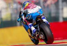 Alexx Marquez Moto2 Aragon 2016 FP3