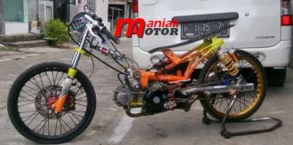 Jupie (Jupiter Z) 130 Drag Bike