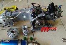 Mesin Mio 200 Drag Bike Thailand (Tomo Speed)