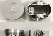Piston balap SND