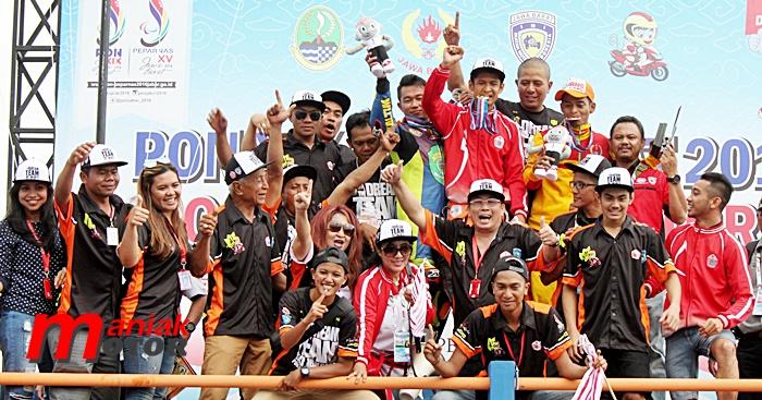 Road race, PON XIX, Jabar, Tasik, Jogya